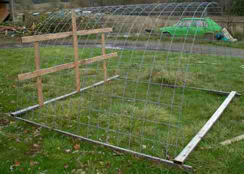 Portable Field Hoophouse